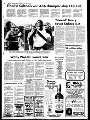 BC Sports History - week of May 21, 1975