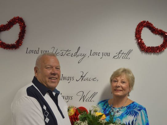 Lee Encott and Lynda Gayens are among couples married