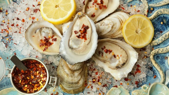 Celebrity chefs will present their favorite oyster recipes during Peat & Pearls on Nov. 5-6, 2017, in downtown Pensacola.