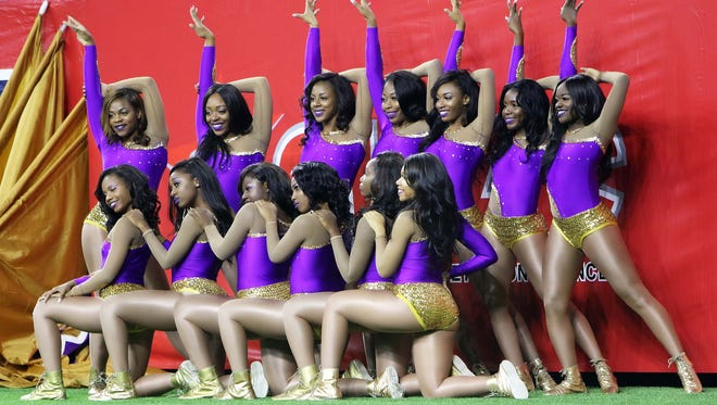 The Alcorn State University Golden Girls are shown posing in this file photo.
