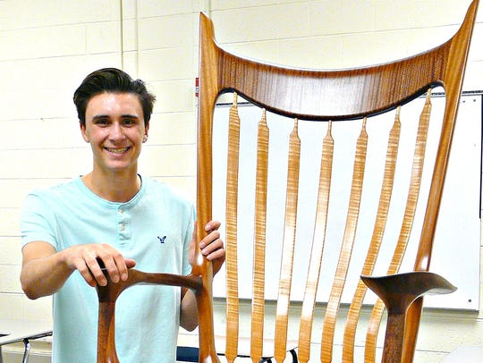 This rocking chair won the Golden Hammer Award for