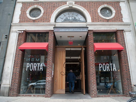 Exterior of Porta in Philadephia.