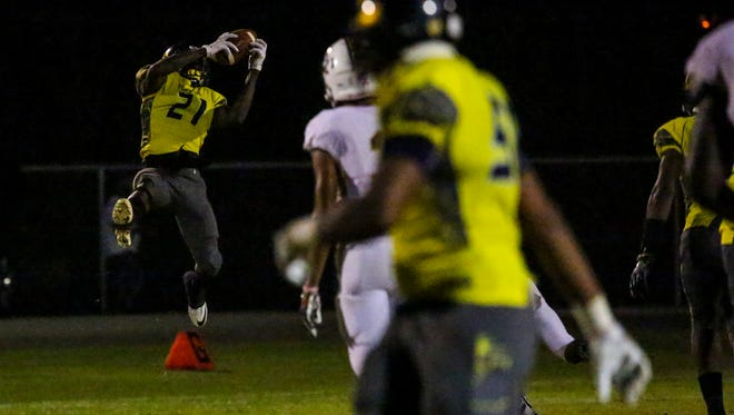 Lehigh safety Quan Martin, an Illinois commit, is one of the players to watch in Wednesday's Rotary South All-Star Classic at Fort Myers High School.
