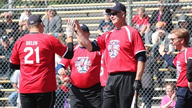 The second annual Guns 'N Hoses charity softball game will be at 1 p.m. Saturday at Bukolt Park in Stevens Point.