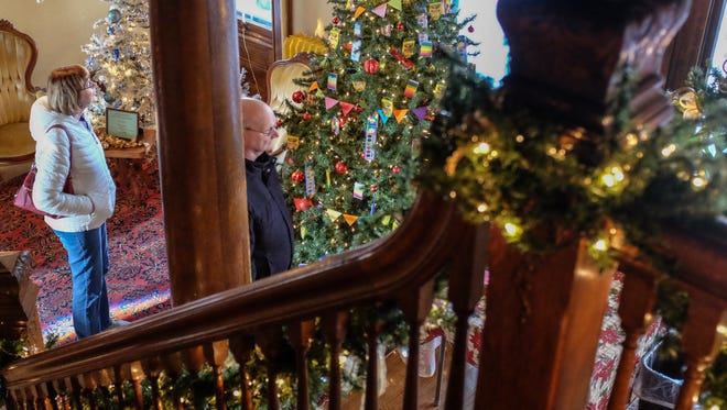 Nearly 50 trees are on display at the Turner-Dodge House 6th Annual Festival of Trees.