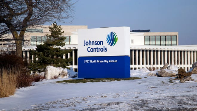Johnson Controls, Inc. corporate headquarters at 5757 N. Green Bay Ave. in Glendale.
