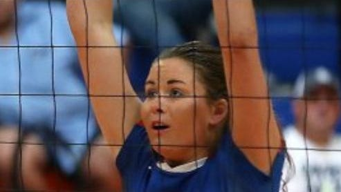 Central High School's Hadley McIvor (shown this past season) had seven kills for the South team in Saturday's FCA All-Star volleyball match in Abilene.