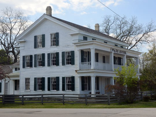 The Wade House in Greenbush was once a stagecoach stop and inn.