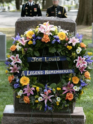 "A ceremony commemorated the 25th anniversary of the death of boxer Joe Louis at Arlington National Cemetery on April 12, 2006. Brevard resident Joe Burden sang Amazing Grace"" at Louis' funeral in 1981."