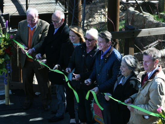 Ceremonial opening of new natural habitats Gibbon Trails