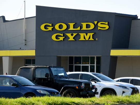 The Gold's Gym location at Knoxville Center Mall closed in May.