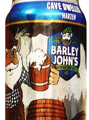 Cave Dweller Marzen, from Barley John's Brewing Co. in New Richmond, Wis., is 8% ABV.
