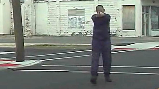 Dashcam footage of the fatal shooting of Edward C. Gandy Jr. on January 22 in Millville.