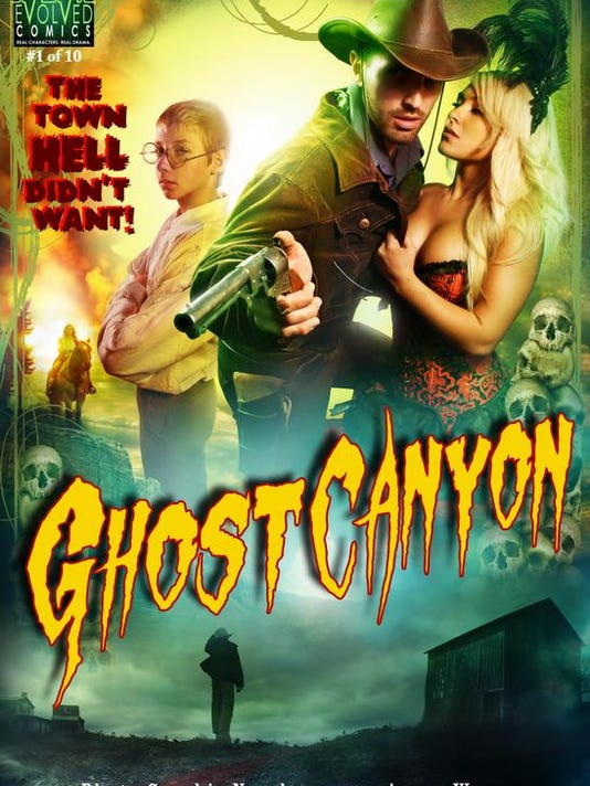 'Ghost Canyon' comes to life: Graphic novel premieres on Sunday