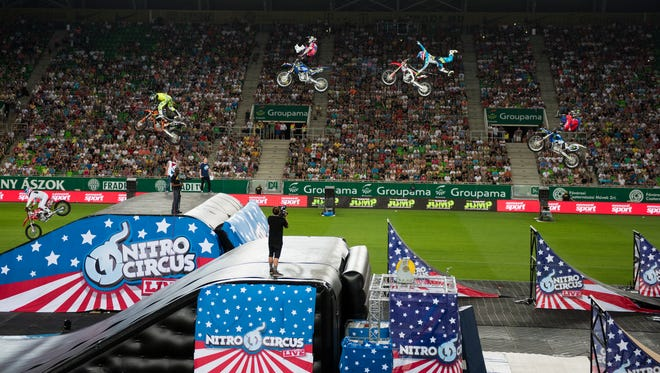 The Nitro Circus made a stop in Budapest in 2015.