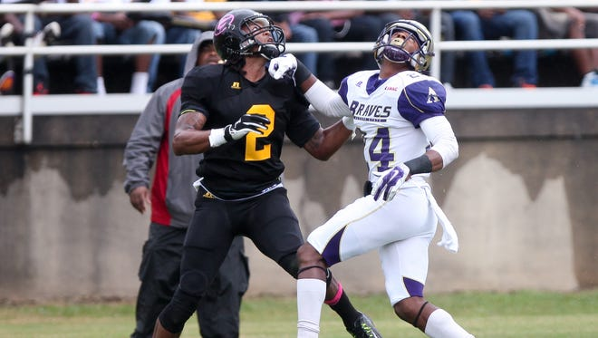Grambling wide receiver Verlon Hunter led the Tigers with seven touchdowns in 2014.