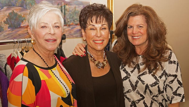 Janet Cunningham, Barbara Stenzler and Dee Brown.