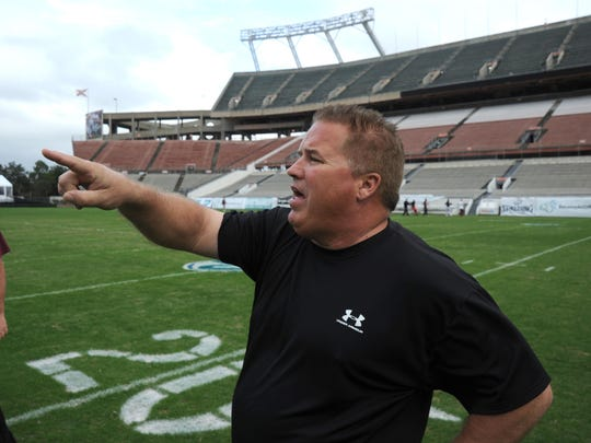 Pensacola High athletic director Mike Bennett cited the Lakeland Senior High School football program as one with a long track record of recruiting student-athletes.