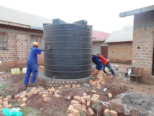 CCC Ugandan water system