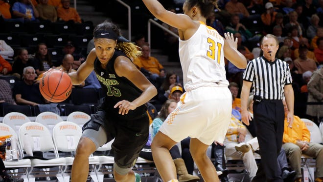 Despite a stellar career at Baylor, Nina Davis went undrafted by the WNBA on Thursday.