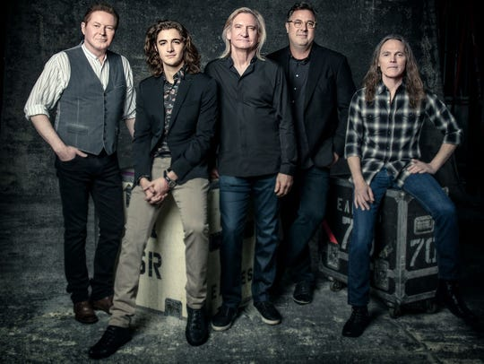 The Eagles of 2017 include Don Henley, left, Deacon