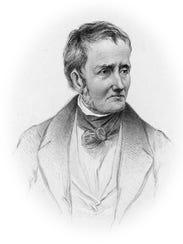 A circa 1850 portrait of English writer Thomas de Quincey