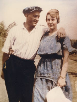 Matt and Wava Bleemel were photographed around the time they married in 1920.