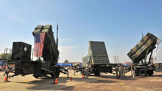 Letterkenny Army Depot crews repair Patriot missile systems for the Department of Defense.