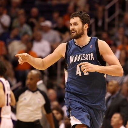 Kevin Love is finally teaming up with LeBron James.