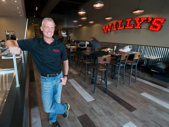 Bill Wyant, COO, at the new Willy's Originals set to