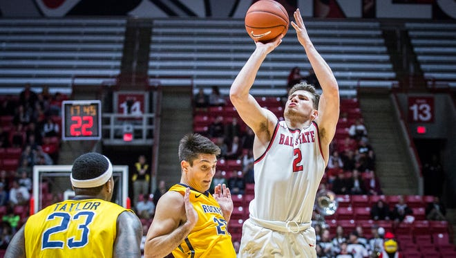 Ball State defeated Toledo 81-80 at Worthen Arena Tuesday, Jan. 31, 2017.