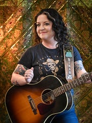 Country singer Ashley McBryde's Grammy nomination for her debut album is her first.