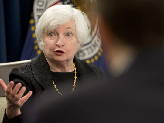 Federal Reserve Chair Janet Yellen is leading a two