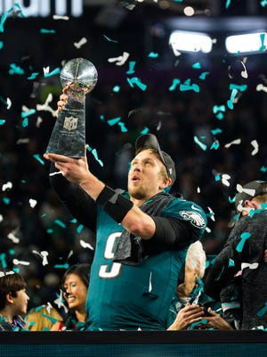 Eagles quarterback Nick Foles not only earned a Lombardi Trophy in Super Bowl LII, but also a namesake.