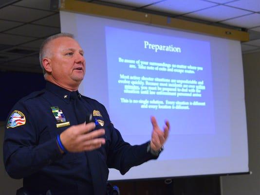 Satellite Beach active shooter response meeting
