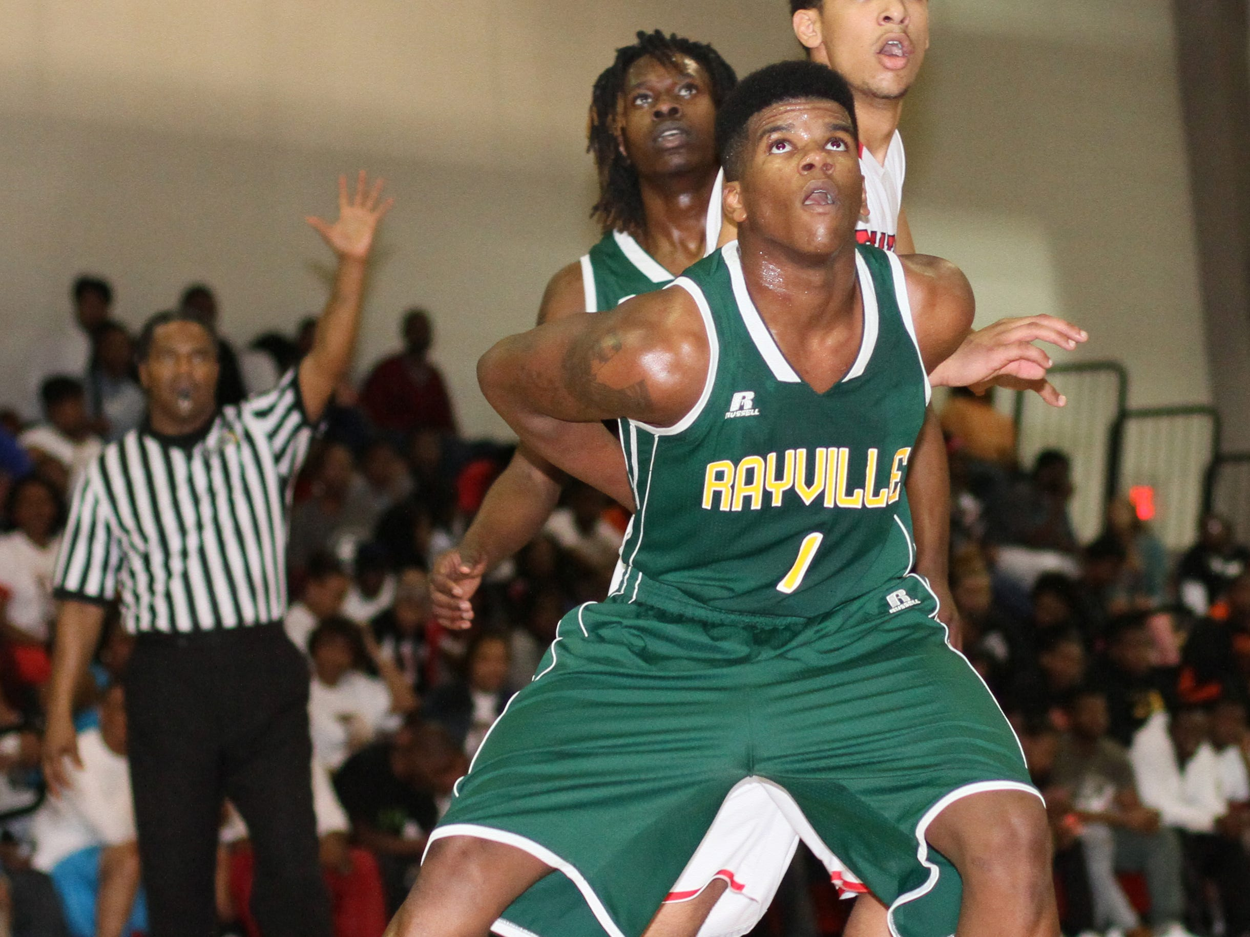 Jamarion 'Papa' Johnson scored 11 points to aid Rayville in beating Bossier on Tuesday in the Class 3A playoffs.