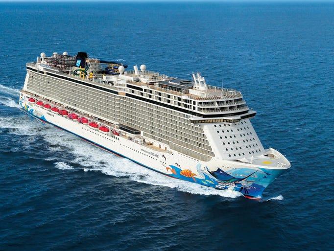Cruise ship tours: Norwegian Cruise Line's Norwegian Escape