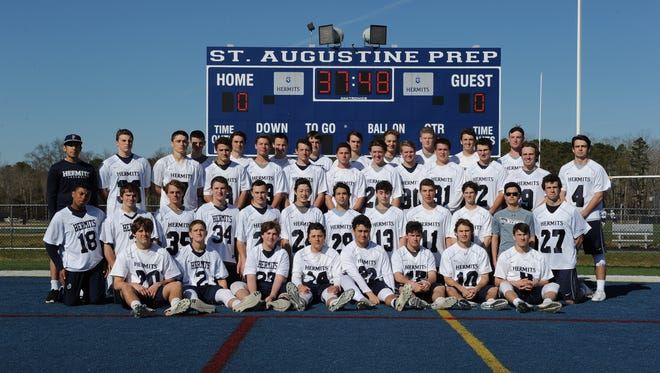 St. Augustine is the Courier-Post's Boys' Lacrosse Team of the Year.