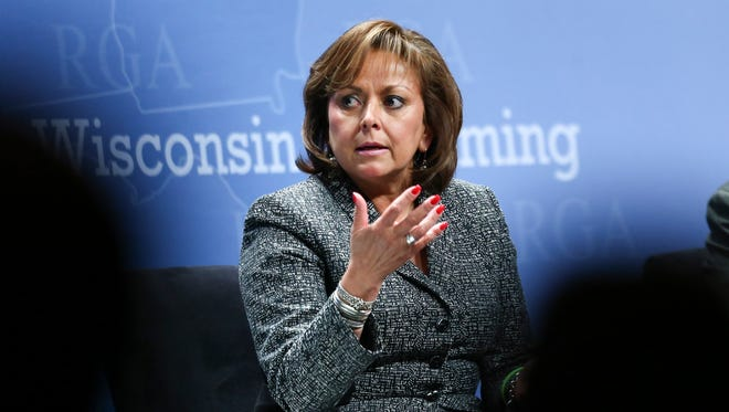 Gov. Susana Martinez participates on Nov. 18 in a panel discussion during the Republican Governors Association annual conference in Las Vegas.