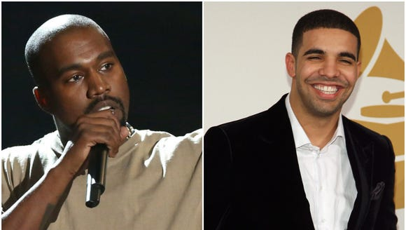 Kanye West and Drake will collaborate on an album.