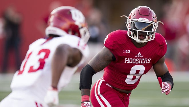 Tegray Scales last season became the first IU linebacker to earn All-America honors since 1987.