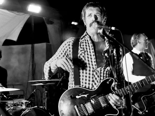 Jesse Hughes and Eagles of Death Metal.