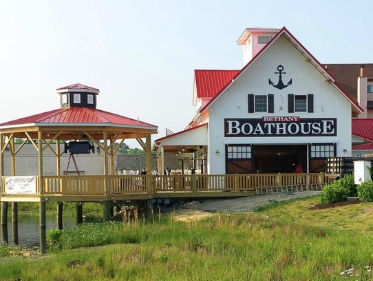 The Bethany Boathouse is located at 39817 Hickman Plaza