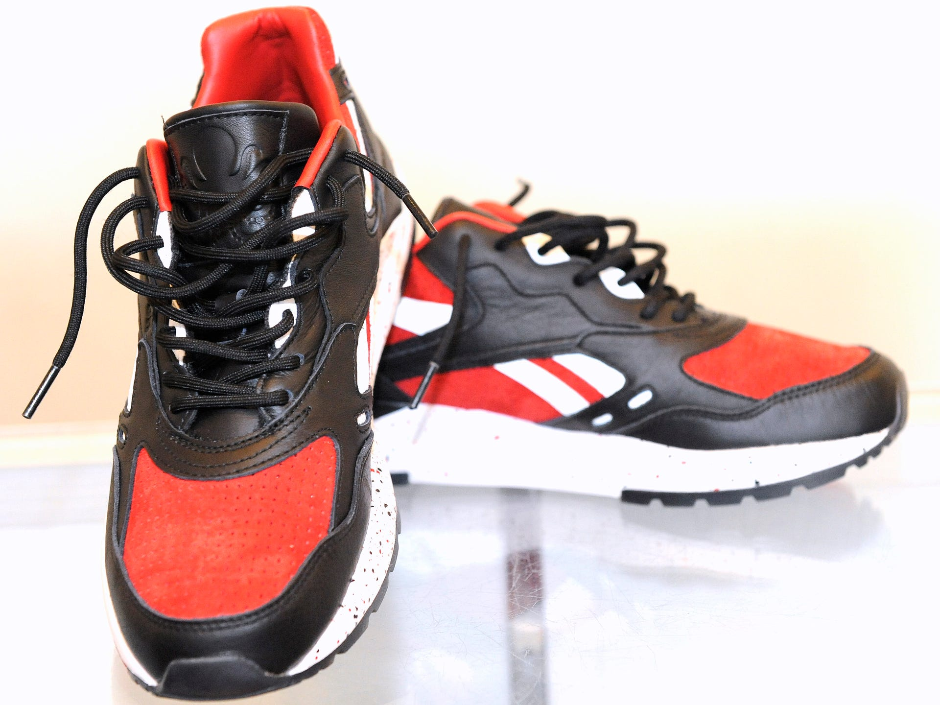 official photos 99d5c cc13f These sneakers are called the Reebok Bolton.