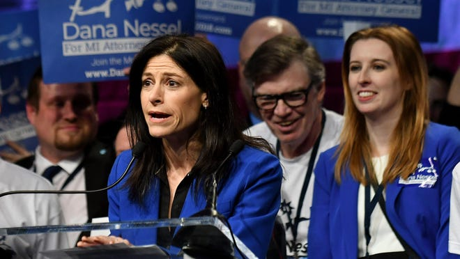 Democrats are most likely to regret their decision before November to embrace Dana Nessel as their attorney general nominee, Finley writes.