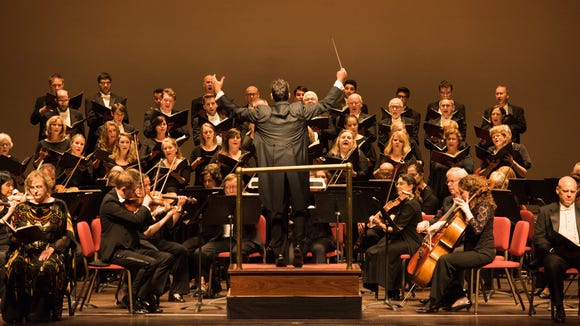 The Delaware Symphony Orchestra performs at The Grand last week, kicking off its new season.