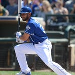 Fuentes drives in two runs for Royals