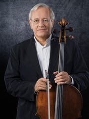 Cellist David Geringas performs Sunday at Ithaca College.