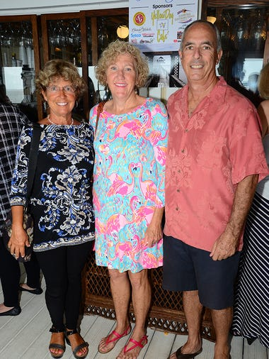 Cindy Pennington along with Karen and Bob Sukolsky