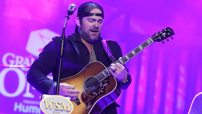 Lee Brice performs during The Grand Ole Opry at CRS 2015 on Feb. 25, 2015 in Nashville, Tennessee. Brice will perform at the Wicomico Youth & Civic Center in Salisbury on Feb. 4.